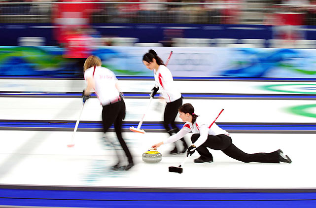 Canada's plays Great Britain in round robin action on Day 12.