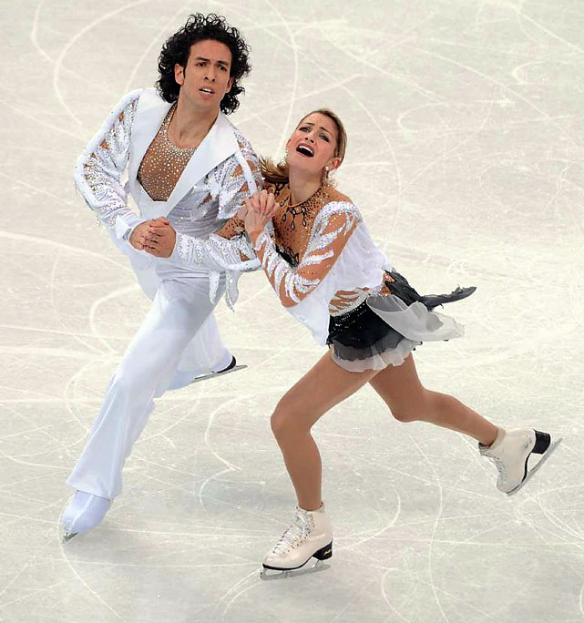 Turin Olympics silver medalists Tanith Belbin and Ben Agosto of the United States were fourth.