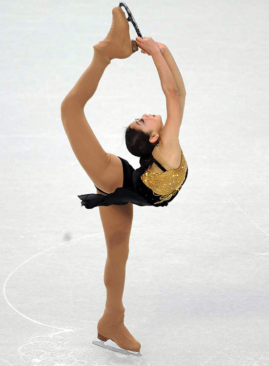 Mirai Nagasu of the U.S. wound up with a season-best score of 63.76, but was upset because she might not make the podium.