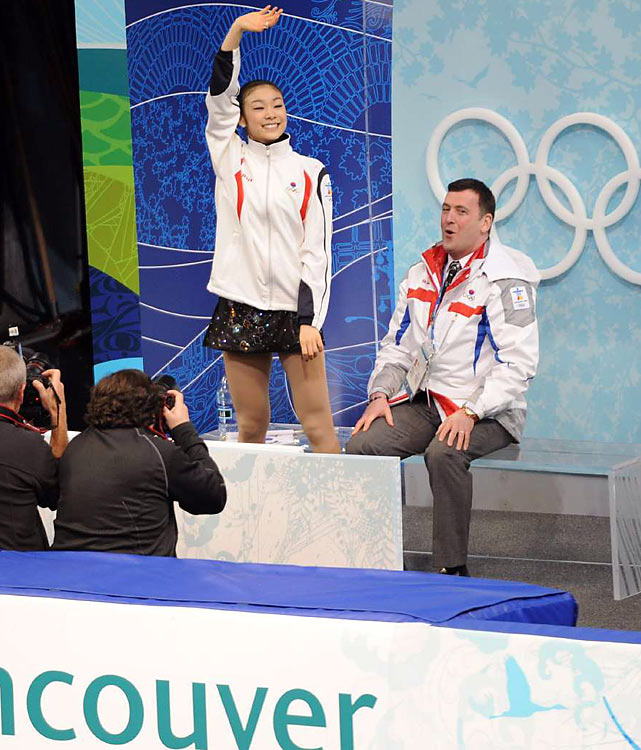 Should she win, her gold would be South Korea's first that didn't come from speedskating.