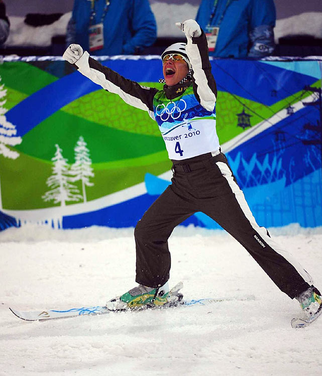 Lydia Lassila of Australia won the women's aerials title for her country's second gold of the Vancouver Games.