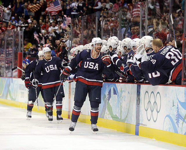 The win over Finland put the U.S. in Sunday's gold medal game, where it will have a rematch with Canada.