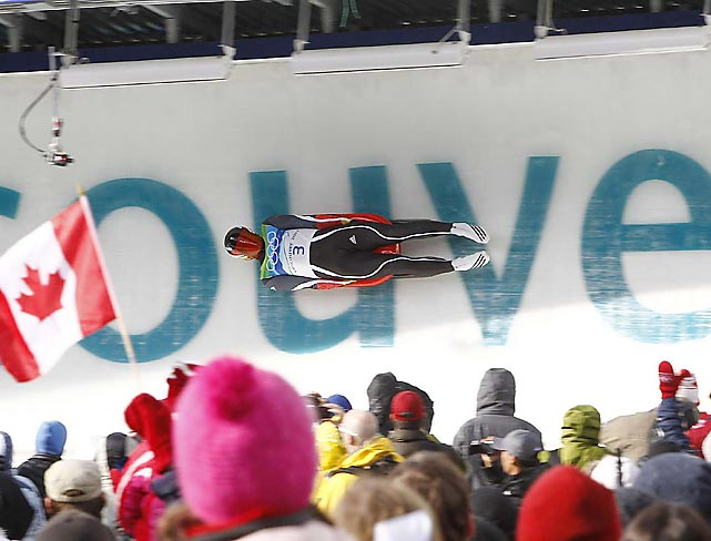 Competing on a course that was shortened for safety's sake after a Georgian luger died on the opening day of the Vancouver Games, Germany's Felix Loch won the gold medal on Sunday. Loch, already a two-time world champion at 20, is the youngest luge Olympic gold medalist in history.
