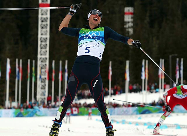 Jason Lamy Chappuis said he had given up hope of catching Johnny Spillane until he saw him slowing down upon reaching the stadium at Whistler Olympic Park.