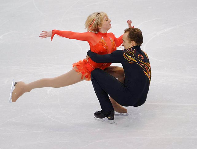 Caydee Denney and Jeremy Barrett were in 14th position after the short program. They are the reigning U.S. champions.