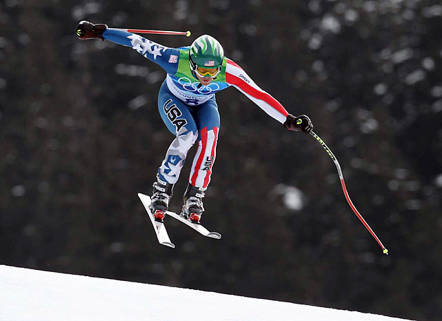 Bode Miller's bronze in the downhill was the first U.S. medal in the event since Tommy Moe took gold in 1994 in Lillehammer. The only other American to have won a downhill medal was Bill Johnson, who won gold in 1984.