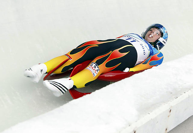 Erin Hamlin of Remsen, N.Y. was the top U.S. finisher in luge, a disappointing 16th. The 2009 world champion fell far from contention after struggling from a reconfigured start ramp throughout the competition.