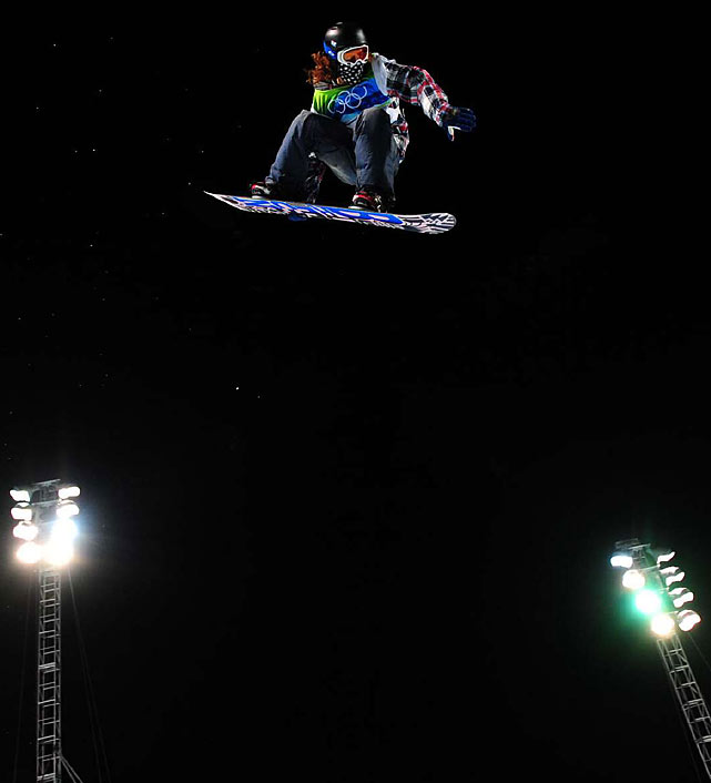 Shaun White capped his gold-medal night on the halfpipe with his signature trick -- the dangerous, spiraling Double McTwist 1260 -- during a victory lap that will go down as nothing short of epic.