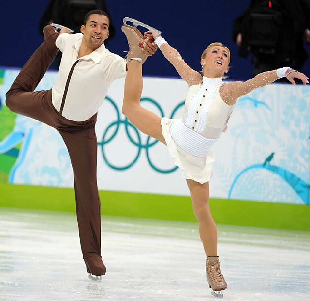 Germany's Aliona Savchenko and Robin Szolkowy.
