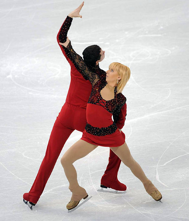 Ukraine's Ekaterina Kostenko and Roman Talan.
