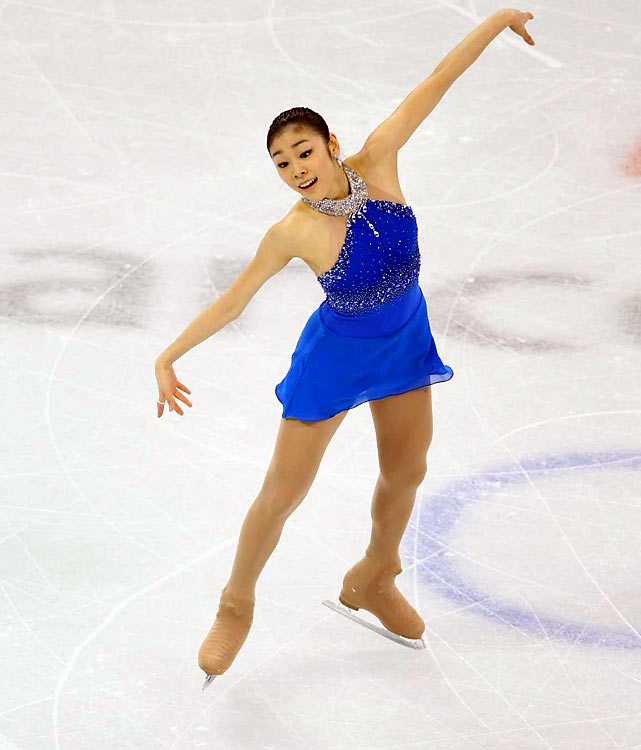 Kim Yu-Na of South Korea.