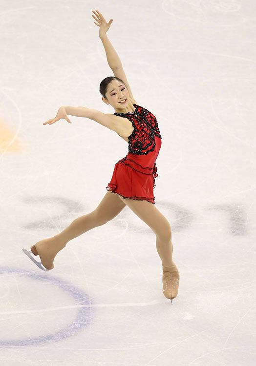 Mirai Nagasu of the U.S.
