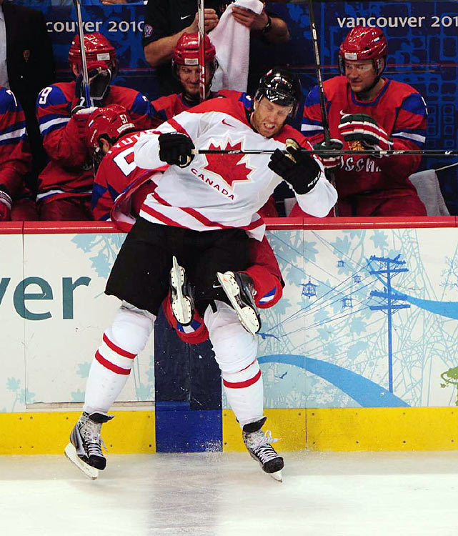 """An event described in Russia as """"Nightmare in Vancouver"""", a 7-3 loss to Canada in the quarterfinals illustrated how far the country's Olympic program has dropped off since the breakup of the Soviet Union. From 1956 to 1991, when the Soviet Union dissolved, the country topped the medals table at all but two Winter Olympics. This time it didn't medal in hockey or in figure skating."""