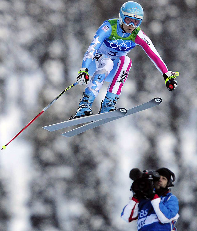 Julia Mancuso soared to a pair of silver medals, one in downhill and the other in combined, but created bigger headlines when she voiced corcerns that she and others on the U.S. team were being overshadowed by all the attention paid to Lindsey Vonn.