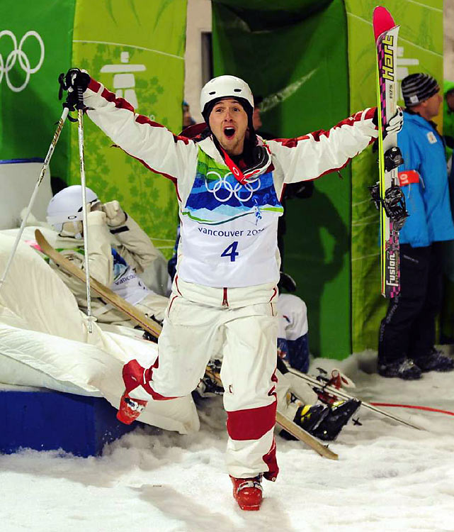Nearly 34 years since the Summer Games in Montreal, and 22 since the last Canadian games in Calgary, the host country finally got a gold-medal performance from one of its own on home soil in the form of moguls star Alexandre Bilodeau. Canada went on to win 14 total gold medals, the most ever by a country at any Winter Games.