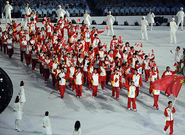 China is projected to win 15 medals, four more than it did four years ago.