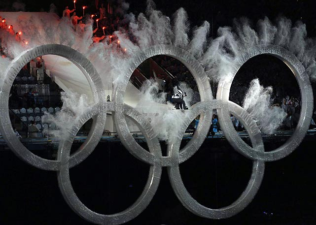 SI's shots from the Opening Ceremonies in Vancouver, where more than 50,000 ticketholders packed into the stadium for the first Olympic opening or closing ceremony ever held indoors.