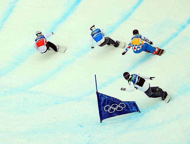 Snowboard Cross Finals.