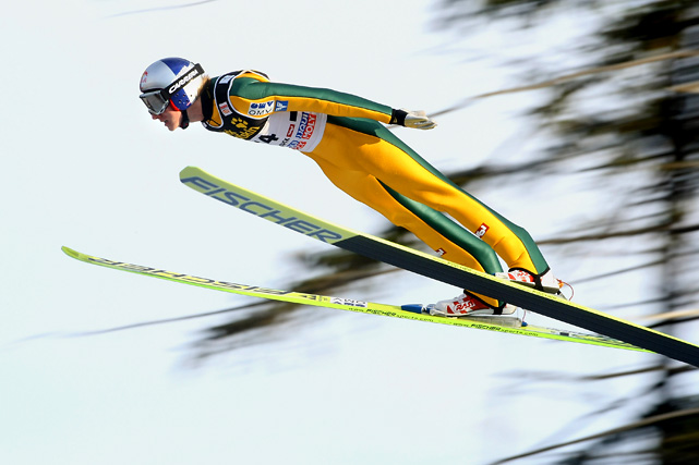 At 19, rising star Schlierenzauer will shoulder high expectations for his Olympic debut. He is coming off a 2008-'09 breakthrough campaign, with the World Cup title and two medals in the world championships, among his many successes. There is reason to believe he could continue his domination of the sport in Vancouver: two of his 2009 Cup wins came at Whistler, the Olympic venue.