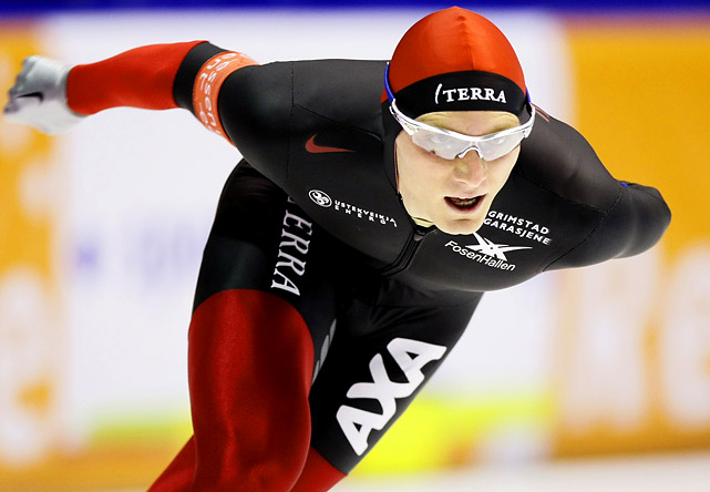Having fallen in his only event in Turin, Bøkko will contend for medals in the 1500m, 5000m and 10,000m. Look for him to take a stand against the Netherlands' Sven Kramer to whom he's finished second in both his events at the 2009 World Single Distance Championships and the World Allrounds in 2008 and '09.