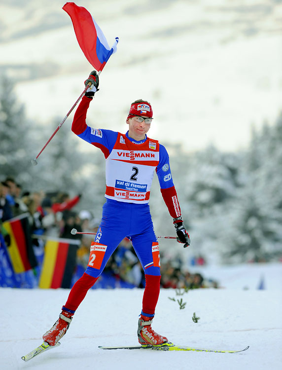 In January, Turin 15k classic silver medalist Bauer became the first man to win two Tour de Ski championships. On the last leg of the 10-day event, he rallied to overcome Norway's triple 2009 World Championship gold medalist and probable World Cup champion Petter Northug. The 32-year-old continues to have success on the Cup circuit, but has yet to win an Olympic or world championship gold.