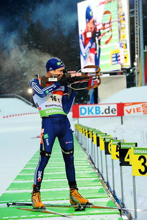 The great hope for U.S. Biathlon, in December Burke became the first-ever American biathlete to lead the Biathlon World Cup in points. (Biathlon and Nordic skiing are the only two sports in which the U.S. has never won an Olympic medal.) So far this season, Burke has had five top-eight Cup finishes, including one podium finish in each of the 20k individual race, the 15k pursuit and the mass start events.