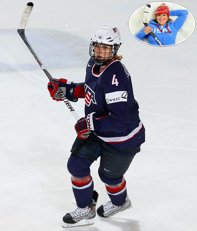 One of two returning members from the 1998 Olympic gold medal squad, defenseman Ruggiero couldn't hold her own during her appearance on The Celebrity Apprentice--the team player said she was unable to turn on her teammates when it counted and was booted off. This bodes well for a tight knit Team USA, for whom the alternate captain had two goals and four assists in Turin, and calls Vancouver her final Olympic appearance.