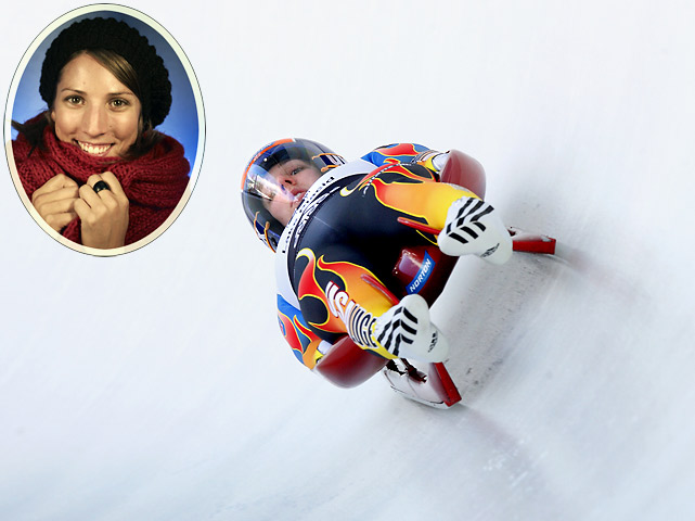 Hamlin is the reigning world champion in women's singles, having won the competition on her home track in Lake Placid, N.Y., last year. Hamlin's victory stopped a German win streak of 99 races, including worlds and Olympics. She hasn't reached that plateau since the worlds, but has managed two third-place finishes in recent races in Europe.