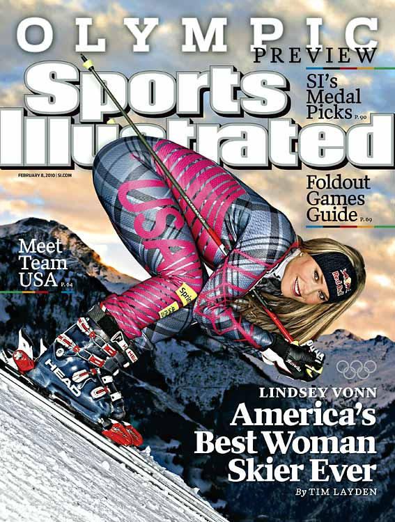 "She was going to be the biggest story of the Games before suffering a severely bruised shin 10 days before the Opening Ceremony. Now she's a combination of Willis Reed and Picabo Street, trying to climb off the training table and into history. Vonn is arguably the most dominant U.S. skier in history and will race all five disciplines and has a very real chance to medal in at least three. Twice the World Cup overall champion, Vonn's drama now promises to make her a television star across America.<br><br><i>For complete galleries of figure skaters, men's hockey players, and U.S. snowboarders to watch, click the ""Related Links"" below.</i>"