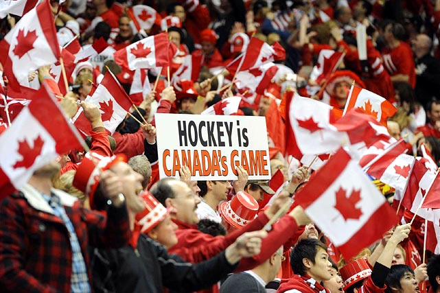 Hockey may in fact be Canada's game...