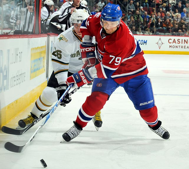 As talented as Ovechkin is, the Russians would remain a threat for gold even with him on the sidelines. You can't say that about Markov. The sublimely gifted defender will be the 25-minute mainstay of a blueline that's seen as the weak link in a gold medal quest. Alongside Sergei Gonchar, his partner at the 2007 World Championships, Markov provides the Russians with a strong defensive presence and the transitional ability to maximize the in-flight skills of the country's fleet forwards.