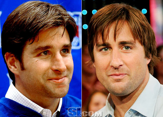 <b>Chris Drury</b> - <i>center, USA</i><br> <b>Luke Wilson</b> - <i>actor</i>