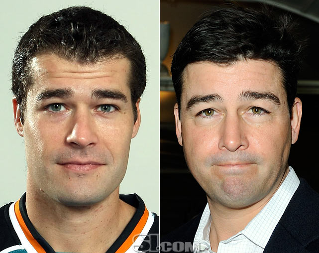 <b>Patrick Marleau</b> - <i>center, Canada</i><br><b>Kyle Chandler</b> - <i>actor</i>