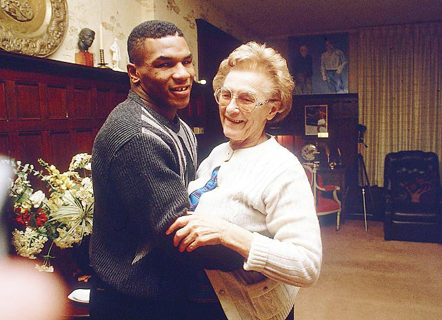 Camille Ewald instilled a lot of family values in Mike Tyson.