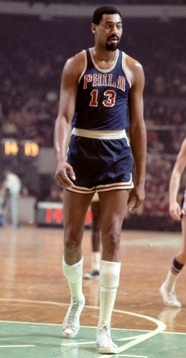 Wilt Chamberlain of the Philadelphia 76ers dished out a club-record 21 assists in a 131-121 win over Detroit. Maurice Cheeks tied this mark Oct. 30, 1982 vs. New Jersey.