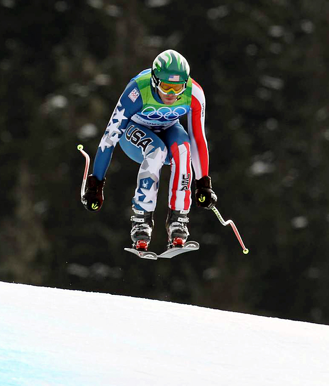 Bode Miller's bronze in the downhill was the first U.S. medal in the event since Tommy Moe took gold in 1994 in Lillehammer.