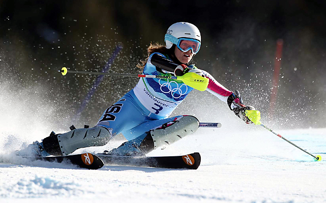 Julia Mancuso won silver in the super-combined, becoming the first American to win a medal in women's combined or super-combined since Gretchen Fraser got silver at the 1948 St. Moritz Games. She also became the first U.S. woman with three Olympic medals in Alpine skiing, matching Bode Miller for the most Alpine medals by an American.