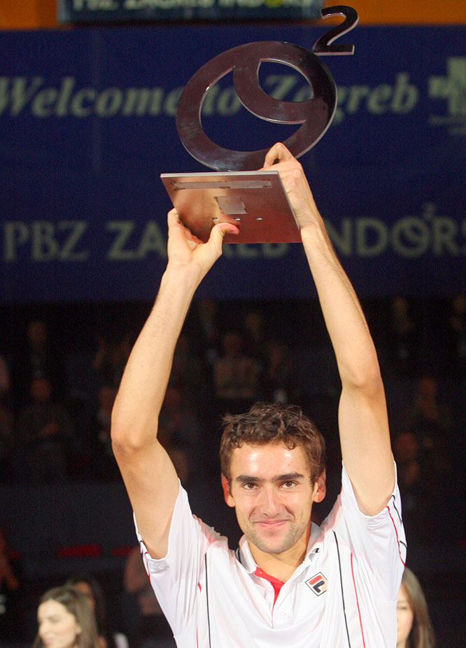 def. Michael Berrer, 6-4, 6-7(5), 6-3 ATP World Tour 250, Hard (Indoor), $398,250 Zagreb, Croatia