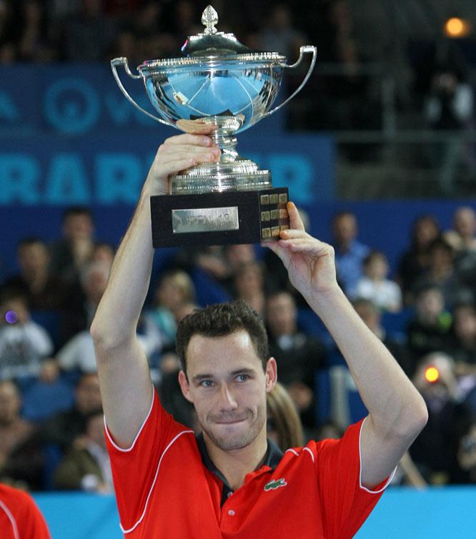 def. Julien Benneteau, 6-3, 6-4 ATP World Tour 250, Hard (Indoor), €512,750 Marseille, France