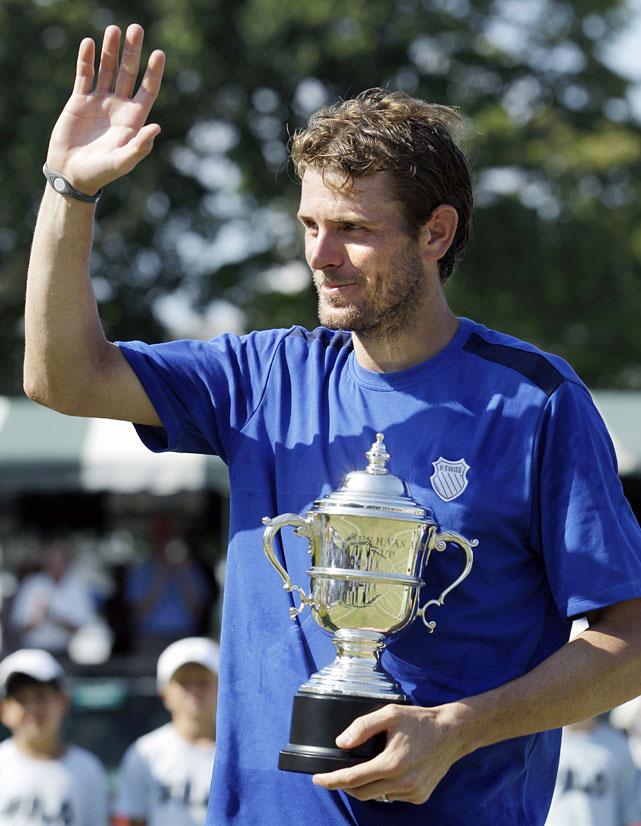 def. Olivier Rochus, 5-7, 6-3, 6-4 ATP World Tour 250, Grass, $442,500 Newport, R.I.