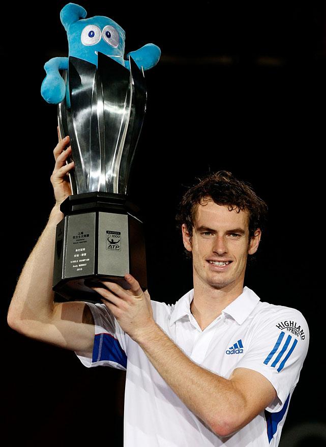 def. Roger Federer, 6-3, 6-2 ATP World Tour Masters 1000, Hard, $3,240,000 Shanghai, China