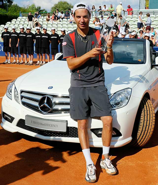 def. Gael Monfils, 6-2, 1-2 (ret.) ATP World Tour 250, Clay, €398,250 Stuttgart, Germany