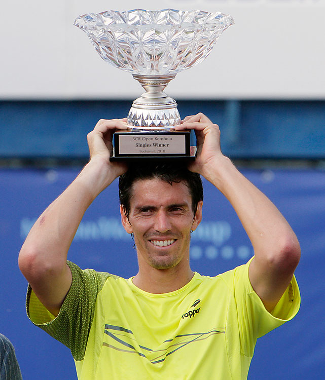 def. Pablo Andujar, 7-5, 6-1 ATP World Tour 250, Clay, $420,200 Bucharest, Romania