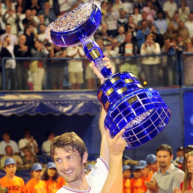 def. Potito Starace , 6-4, 6-4 ATP World Tour 250, Clay, €398,250 Umag, Croatia