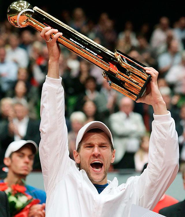 def. Andreas Haider-Maurer, 6-7(10), 7-6(4), 6-4 ATP World Tour 250, Hard (Indoor), €575,250 Vienna, Austria