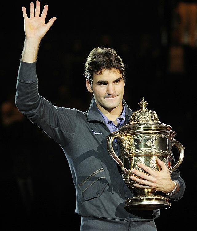 def. Novak Djokovic, 6-4, 3-6, 6-1 ATP World Tour 500, Hard (Indoor), €1,225,000 Basel, Switzerland