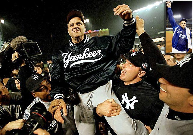 Joe Torre stepped down as Dodgers manager after three years in L.A. and 29 on a big league bench. He went to the postseason 15 times, including 12 straight with the Yankees from 1996-2007, when he won four World Series titles, and two with the Dodgers.