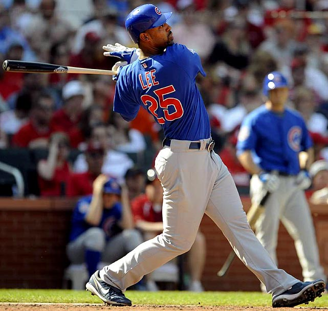 If you can stomach a slow start in April or May, Lee will gladly reward your patience with consistent destruction from June-September ... lest we forget his four-month rampage in 2009 (30 HRs, 92 RBIs). Here's another hidden bonus: You won't have to pay a draft-day arm and/or leg to acquire Lee -- leaving you more time for underrated pitching gems whose last names rhyme with <i>Fester, Blershaw, Throwey or Plainwright</i>. <br><b>Projections:<br> 29 HRs, 104 RBIs, 92 runs, 2 steals, .301 average.</b>