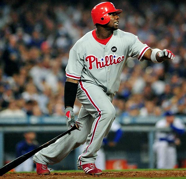 Howard is the easy choice for No. 3 here -- even if he doesn't feel the need to swipe eight or more bases again in 2010. Bottom line: There is no greater lock for 44 homers, 145 RBIs and 105 runs in fantasyland. He also holds a greater fear factor over Teixeira and Fielder -- provided he doesn't slink back to the days of hitting .251 (circa 2008).<br> <b>Projections: <br>46 HRs, 144 RBIs, 102 runs, 4 steals, .277 average.</b>