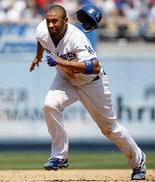 In case you hadn't heard, Kemp is the first Dodger in franchise history to amass 25 HRs, 25 steals and 100 RBIs (which is why he earned a No. 6 ranking in last year's countdown). He's also the only outfielder who's a reasonable lock for 20 HRs/100 RBIs/30 steals/100 runs. Put it all together and he's the perfect choice late in Round 1. <br><b>Projections: <br>23 HRs, 102 RBIs, 104 runs, 37 steals, .297 average.</b>